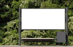 Leeg teken Royalty-vrije Stock Afbeelding