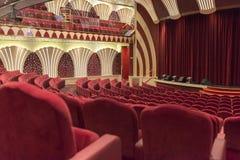 Leeg theater Stock Foto's