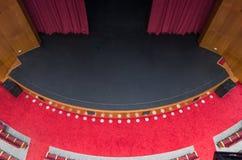Leeg theater Stock Afbeeldingen