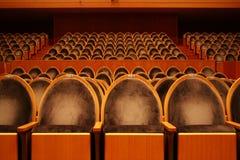 Leeg theater stock fotografie
