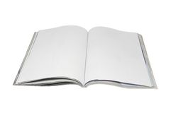 Leeg tijdschrift Royalty-vrije Stock Foto's