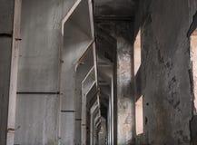 Leeg transformatorhuis Royalty-vrije Stock Afbeeldingen