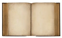 Leeg Uitstekend Boek royalty-vrije stock foto