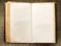 Leeg uitstekend boek royalty-vrije stock foto's