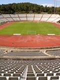 Leeg voetbalstadion Stock Foto's