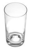 Leeg waterglas royalty-vrije stock fotografie