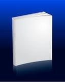 Leeg wit boek met bezinning Royalty-vrije Illustratie