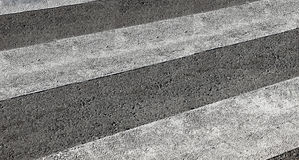 Leeg zebrapad Stock Foto
