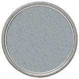 Leeg zilveren muntstuk royalty-vrije stock foto's