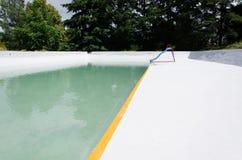 Leeg zwembad Royalty-vrije Stock Foto's