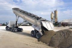 Leegmakende Vrachtwagen Stock Afbeeldingen