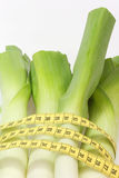 Leek diet Stock Photos