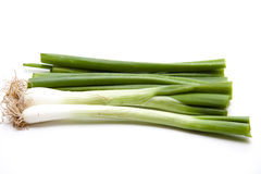 Leek onions Stock Photos