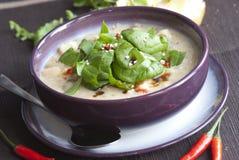 Leek and potato soup Royalty Free Stock Photo