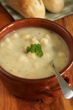 Leek and Potato Soup Royalty Free Stock Photography