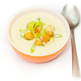 Leek and Potato soup Royalty Free Stock Images