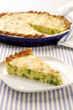Leek quiche Royalty Free Stock Photo