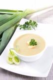 Leek soup Stock Photo