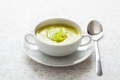 Leek soup Royalty Free Stock Photos