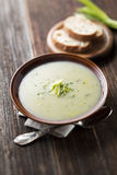 Leek soup Royalty Free Stock Photo
