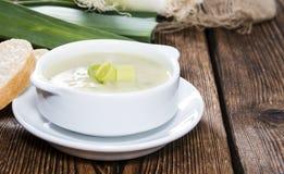 Leek Soup Stock Images