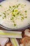 Leek soup Royalty Free Stock Photography