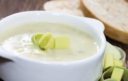 Leek Soup Stock Photography