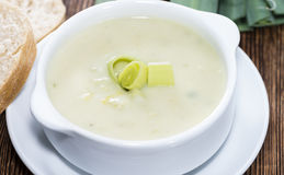 Leek Soup Stock Photos