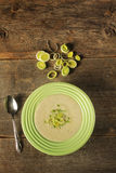 Leek soup Stock Images