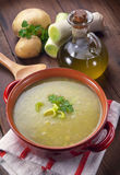 Leek soup Stock Photo