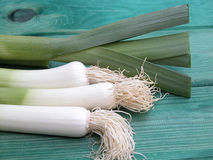 Leeks Stock Images