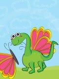 Leen uw vleugels maken me vlieg Stock Foto