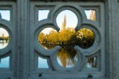 Leendalbrug in York Stock Afbeeldingen