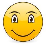 leende för 3 symbol Royaltyfri Fotografi