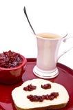 Leende för frukost Royaltyfri Bild