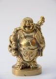 Leendebuddha staty Fotografering för Bildbyråer