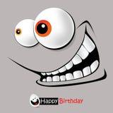 Leendeferie för lycklig födelsedag vektor illustrationer
