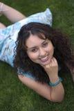 leendekvinna Arkivfoto