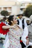Leenden från Argentina Fotografering för Bildbyråer