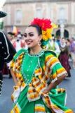 Leenden från Mexico arkivbilder