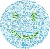 leendesymbol Arkivfoto