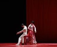 """Leer een artistieke vaardigheid - Dansdrama""""mei Lanfang† Stock Afbeeldingen"""