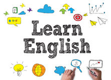 Leer het Engels royalty-vrije illustratie