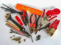 Leer, het werkhulpmiddel, hout - materiaal, zweep, workshop Royalty-vrije Stock Afbeelding