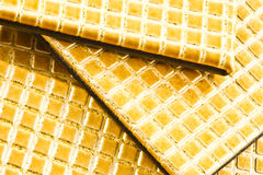 Leer placemats Royalty-vrije Stock Afbeelding