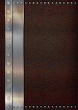 Leer & Roestvrij staal Stock Afbeelding