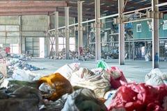 Leere Abfallbehandlungs-Anlage Lizenzfreie Stockfotografie