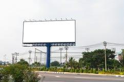 Leere Anschlagtafel für neue Anzeige Stockfoto
