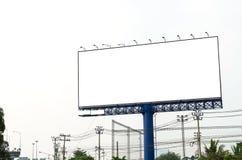 Leere Anschlagtafel für neue Anzeige Lizenzfreie Stockfotografie