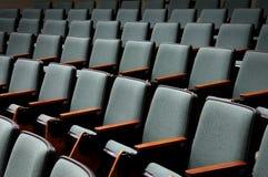 Leere Auditoriums-Sitze Lizenzfreie Stockbilder